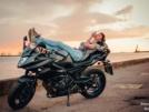 Yamaha XJ6 Diversion 2013 - девочка