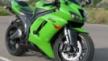 Kawasaki ZX-6R 2007 - Зеленый