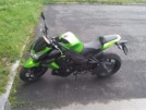 Kawasaki Z1000 2011 - Зеленый