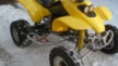 Honda TRX400EX 2002 - Жёлтый
