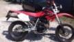 Honda XR400SM 2005 - красный