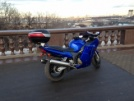 Honda CBR1100XX Super Blackbird 1999 - Синий кит