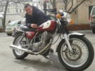 Yamaha SR400 2001 - Булка