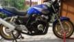 Honda CB400 Super Four 2005 - синяя