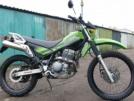 Kawasaki KL250GE Super Sherpa 2002 - зеленый