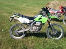 Kawasaki KLX250 2003 - Зеленый