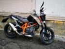 KTM 690 Duke 2012 - Апельсин