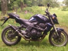 Kawasaki Z750 2008 - пепяка