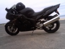 Honda CBR1100XX Super Blackbird 1997 - мотик)
