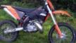 KTM 200 EXC 2009 - Рыжий