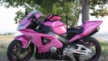 Honda CBR954RR FireBlade 2002 - pink пушка