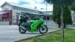 Kawasaki 250R Ninja 2008 - Зелено