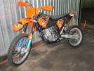 KTM 500 EXC 2008 - Апельсин
