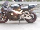 Honda CBR929RR FireBlade 2001 - Schwarz
