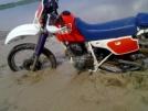 Honda XR250R 1995 - мотоцикл