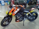 KTM 200 Duke 2012 - Дюкати