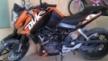 KTM 125 Duke 2012 - апельсин