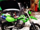 Kawasaki D-Tracker 250 2005 - Зеленый змий