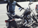 Harley-Davidson FXSTC Softail Custom 2009 - Cat Black