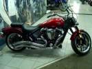 Yamaha Warrior XV1700PC Road Star 2008 - Красный