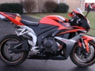 Honda CBR600RR 2008 - Red devil