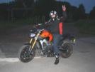 Yamaha MT-09 2014 - Апельсин
