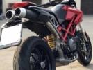Ducati Hypermotard 796 2012 - красный