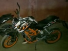 KTM 390 Duke 2013 - Кот