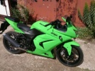 Kawasaki 250R Ninja 2012 - Зелёный