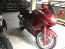 Kawasaki ZZR400 1996 - «Красный»