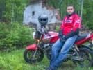 Honda CB400 Super Four 2007 - Красный