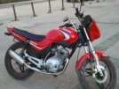 Yamaha YBR125 2006 - Красный