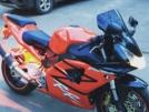 Honda CBR954RR FireBlade 2001 - Фаер/бритва
