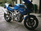 Yamaha TRX850 1998 - конь