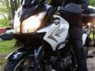 Suzuki DL650 V-Strom 2011 - белый