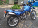 Yamaha XT400 Artesia 1991 - Джеки Чан