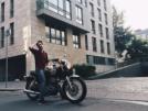 Yamaha SR400 2001 - мотоцикл