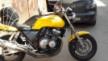 Honda CB400 Super Four 1995 - Желтый