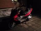 Gilera Nexus 500 2009 - Красный