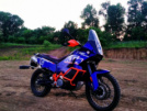 KTM 990 ADVENTURE 2011 - синий