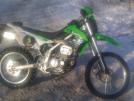 Kawasaki KLX250 2013 - кава/зеленый