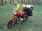Yamaha YBR125 2006 - Ослик