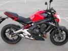 Kawasaki ER-6n 2013 - Red Naked.
