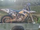 Yamaha WR450F 2004 - Унитаз