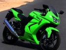 Kawasaki 250R Ninja 2008 - зелень