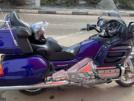 Honda GL1800 Gold Wing 2001 - Фиолетовый