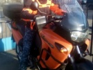 Honda XL1000 Varadero 2000 - апельсин