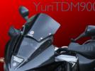 Yamaha TDM900 2004 - чёрный ворон