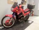 Kawasaki KLE500 1996 - Красный