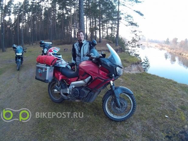 20.11.2015 угнан Aprilia ETV 1000 Caponord 2001 (Россия, Пушкино)
